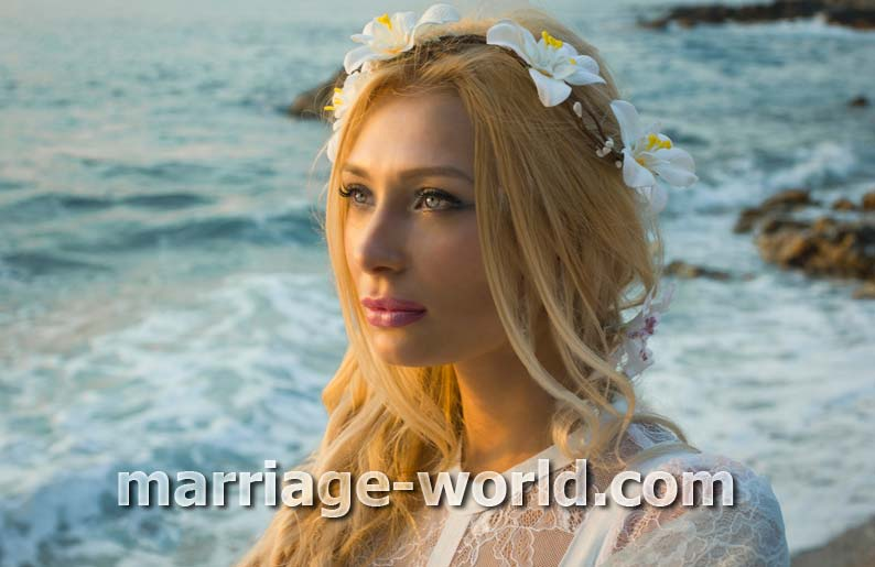 photo of blonde russian brides