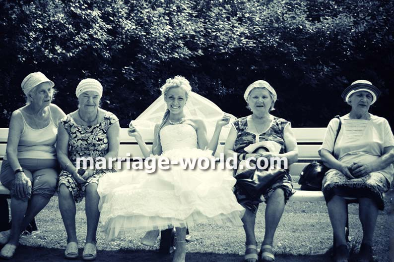 russian brides with old women
